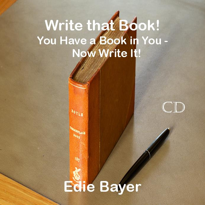 Write that Book Author Seminar on CD to listen